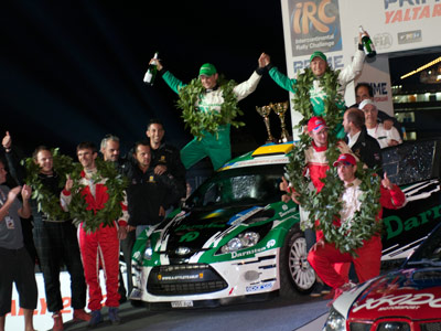 Гонку Prime Ялта Ралли выиграл турецкий экипаж