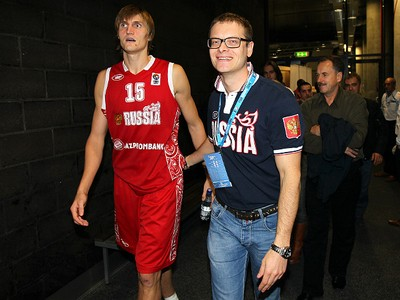 Олег Ушаков и Андрей Кириленко