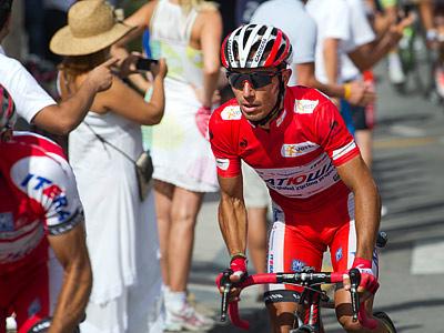 Хоаким Родригес сохранил лидерство после «разделки» на Вуэльте-2012