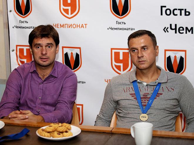 Михаил Лихачёв и Дмитрий Горин