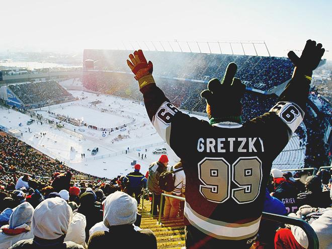 Лучшие хоккейные матчи на открытом воздухе