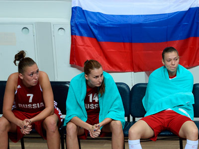 Женская сборная России по баскетболу