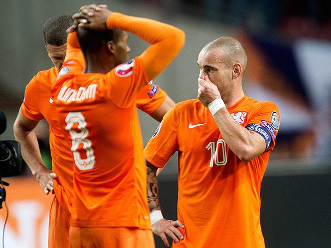 Футболисты сборной Голландии