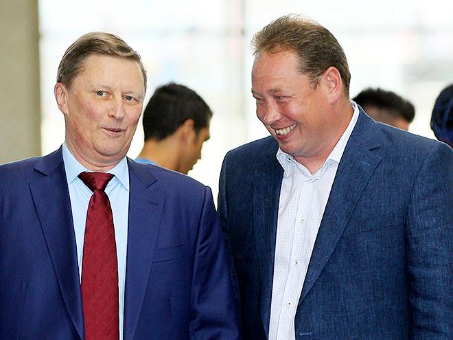 Сергей Иванов и Леонид Слуцкий