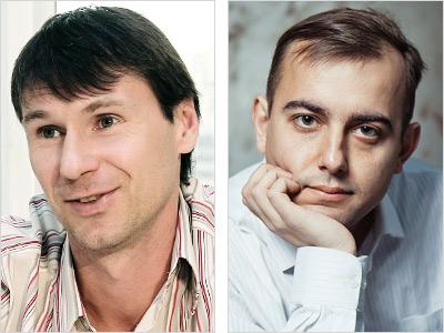 Егор Титов и Денис Целых