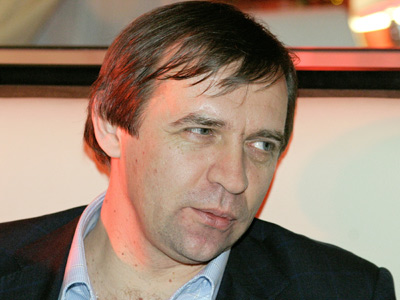 "Главный тренер ""Торпедо"" Александр Бородюк"