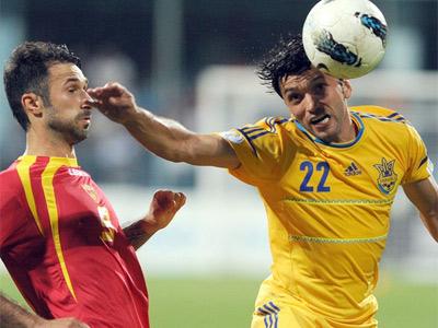 Черногория – Украина – 0:4
