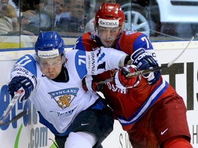 Чехия – Словакия и Россия – Финляндия. Первые полуфинальные матчи