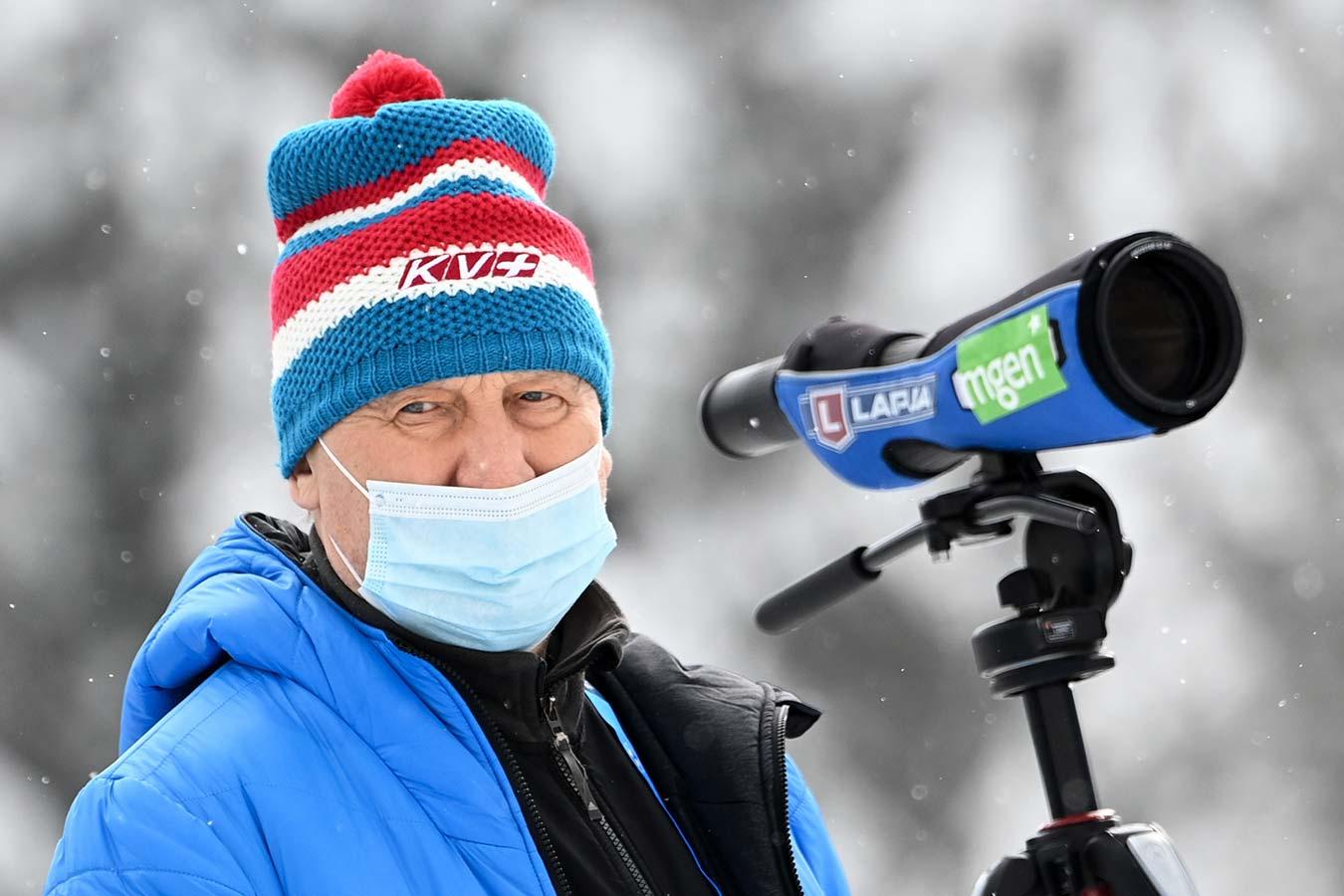 Валерий Польховский покинет пост главного тренера сборной России по биатлону