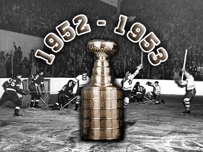 Кубок Стэнли. Часть 61. 1952-1953