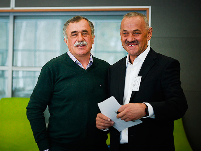 Александр Касперович и Владимир Королькевич