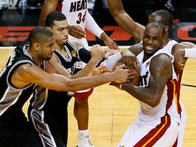 """Майами"" в третий раз сравнял счёт в финале НБА"