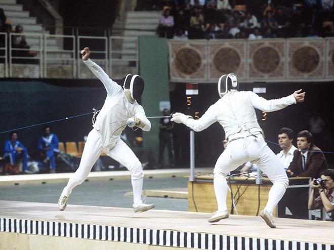 На Олимпиаде в Атланте российские фехтовальщики завоевали 4 золотые медали