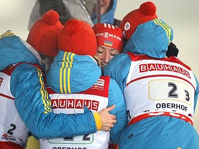 Старший тренер сборной Украины о победной эстафете