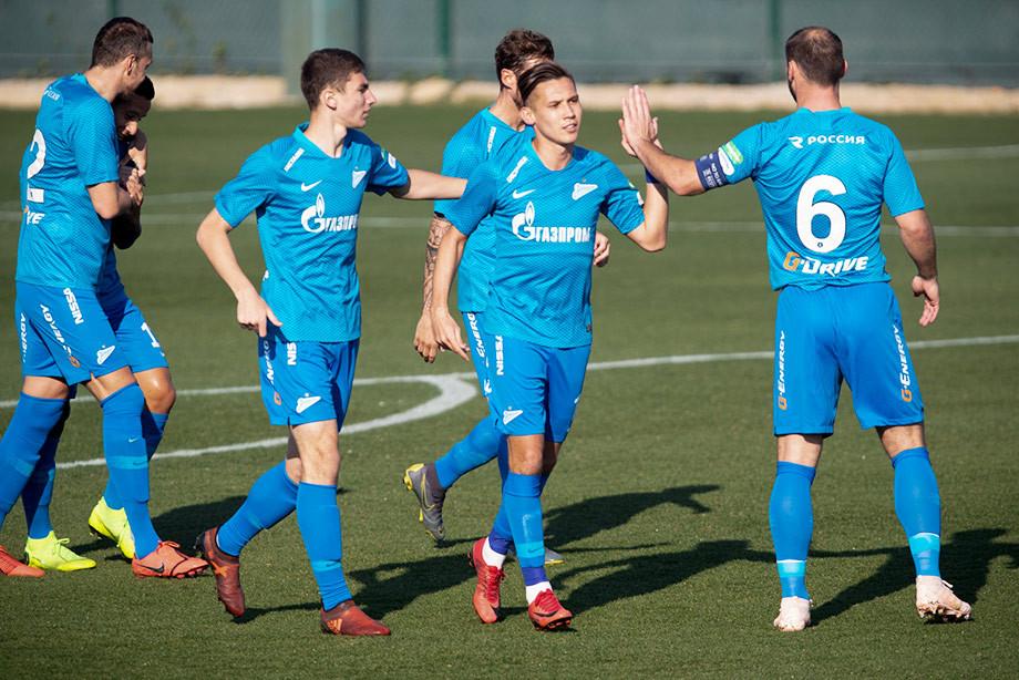 «Зенит» — «Сарпсборг» — 2:1, обзор матча