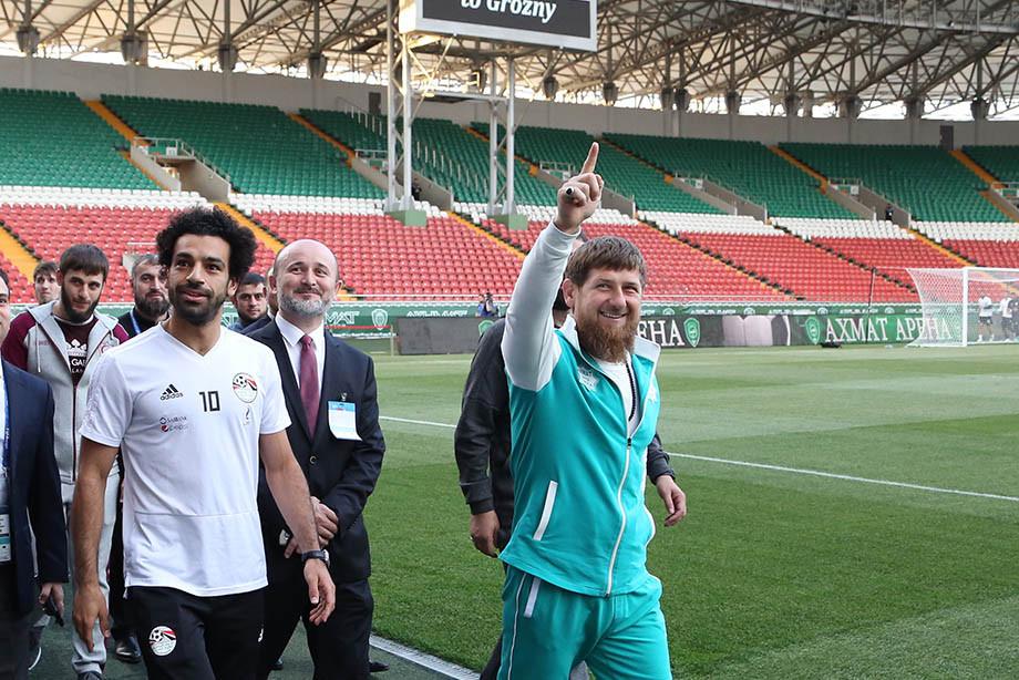 محمد صلاح و Ramzan Kadyrov