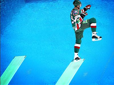 Хоккей в воду
