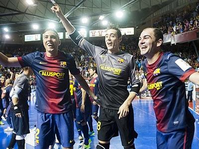 «Барселона» – чемпион Испании по мини-футболу