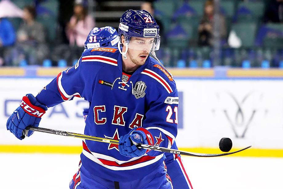СКА обновил рекорд КХЛ поколичеству побед подряд настарте сезона
