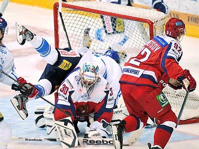 Сборная России уступила финнам на Кубке Карьяла