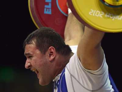 Лондон-2012. Тяжёлая атлетика. Руслан Албегов