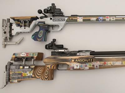 Упражнения в спортивной стрельбе из винтовки