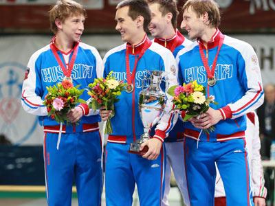 Российские саблисты вторые в командном первенстве
