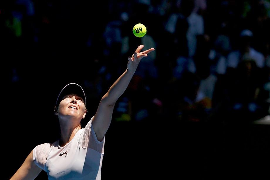 Мария Шарапова оставляет  Australian Open 2018