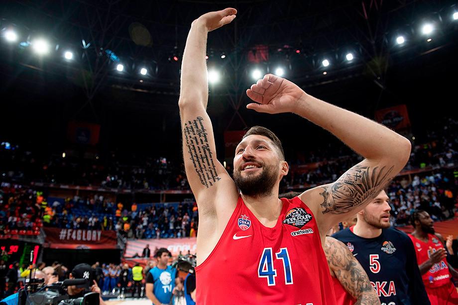 ЦСКА победил в полуфинале Евролиги «Реал» — 90:95. Интервью с Курбановым