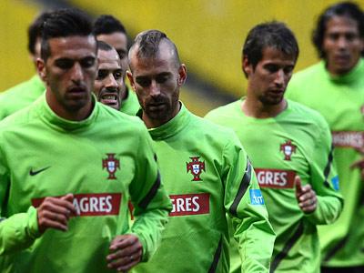 Роналду и Пепе тренировались в общей группе