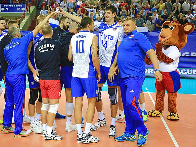 Вторая победа сборной России