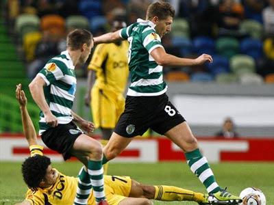 «Металлист» проиграл «Спортингу» в первом матче ¼ финала Лиги Европы