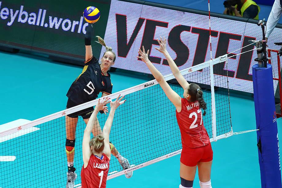 Репортаж о матче Россия – Германия, Лига наций