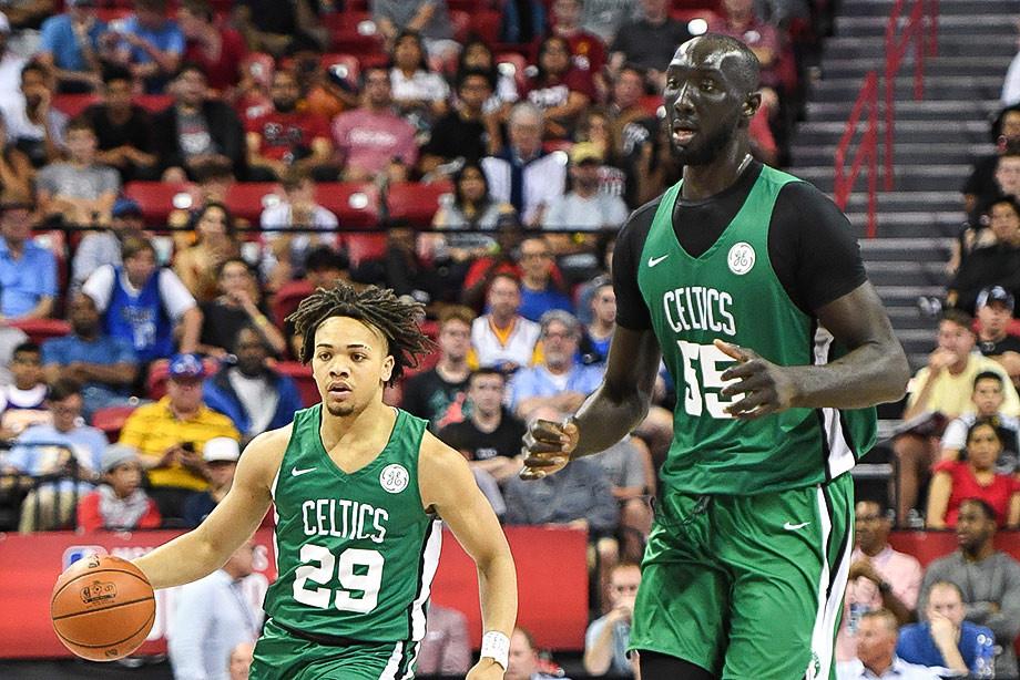 Тако Фолл: его рост 231 сантиметр и он рвётся в НБА