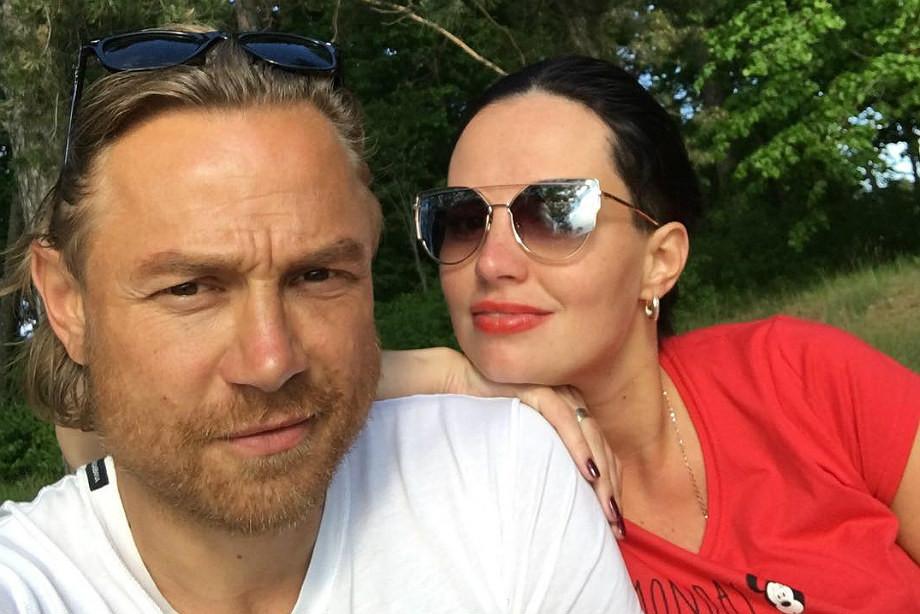 Валерий Карпин с супругой