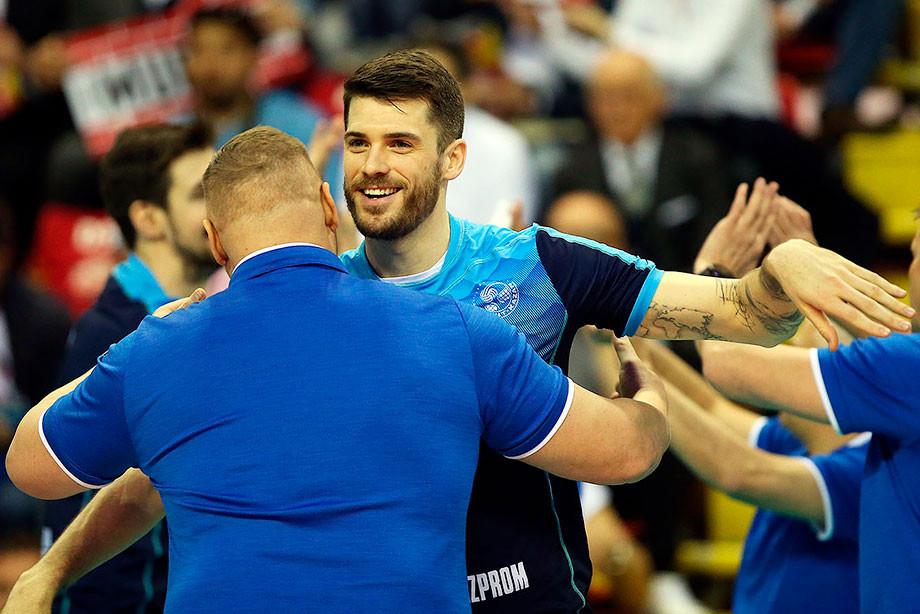 Волейбол, мужская Лига чемпионов-2018/19: «Зенит-Казань» победил «Перуджу»