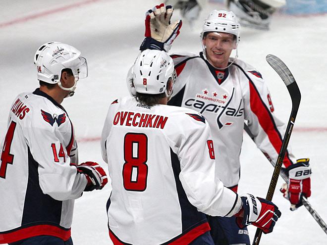 Кузнецов, Кулёмин, Овечкин и Тарасенко – в обзоре НХЛ