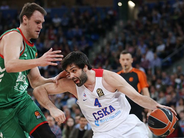 ЦСКА упустил возможность обойти «Реал» в регулярном чемпионате Евролиги