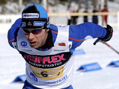 Финский лыжник Мики Мюллюля
