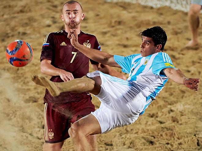 Пляжный футбол. Межконтинентальный кубок. Россия – Аргентина – 5:1