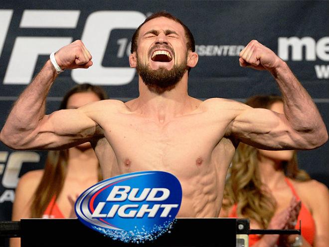 Али Багаутинов проведёт бой за титул чемпиона UFC