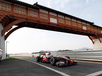 Гран-при Кореи пройдёт на асфальте
