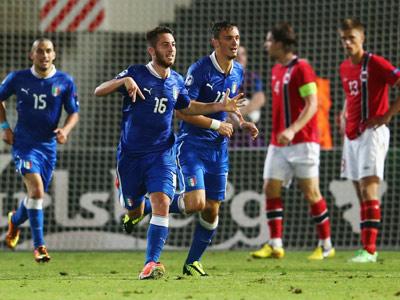 Италия и Норвегия — в полуфинале молодёжного Евро