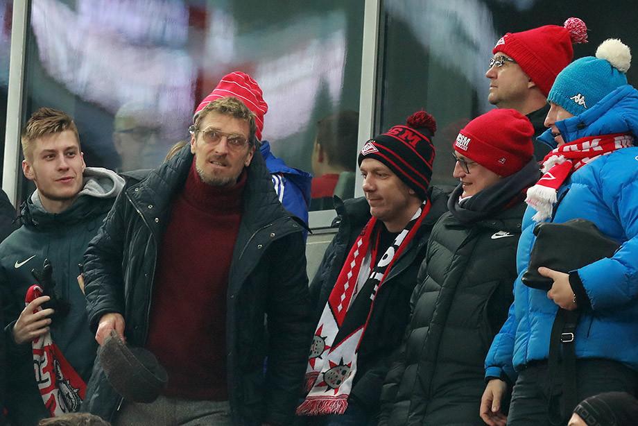 Каррера следил за матчем «Спартак» – «Зенит». А мы следили за Каррерой