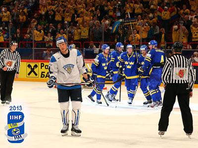 Швеция вышла в финал ЧМ-2013