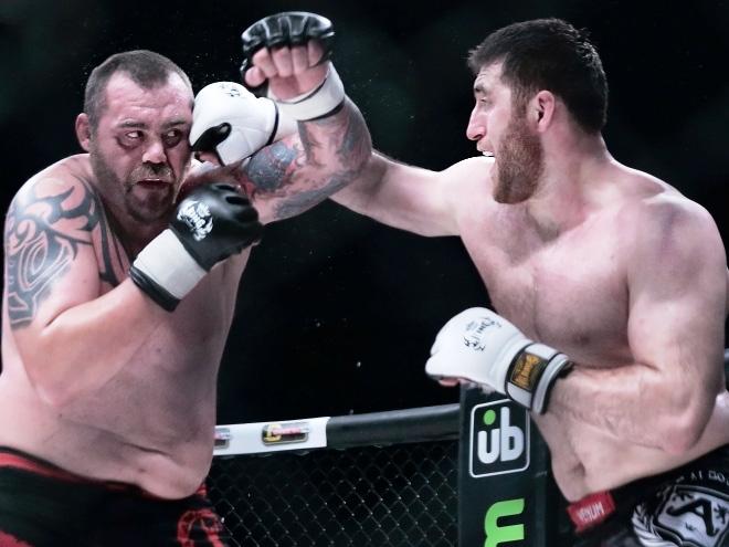 Интервью с Магомедовым перед дебютом в UFC