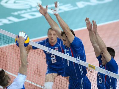 Мировая лига. Россия — Италия