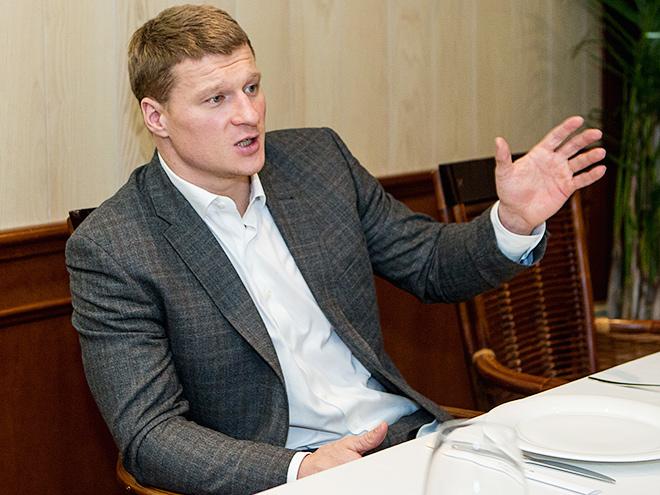 Интервью с Александром Поветкиным