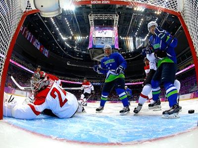 Сочи-2014. Хоккей. Словения – Австрия – 4:0