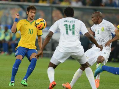 Неймар сделал хет-трик в матче с ЮАР